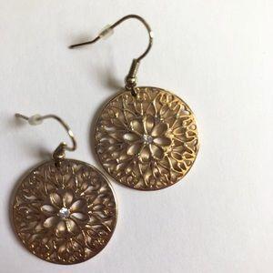 Beautiful Gold Drop Earrings